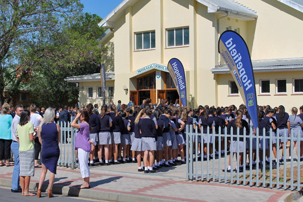 Hopefield High School is the school of choice in the West Coast because it offers excellent results at affordable prices and its accessible.