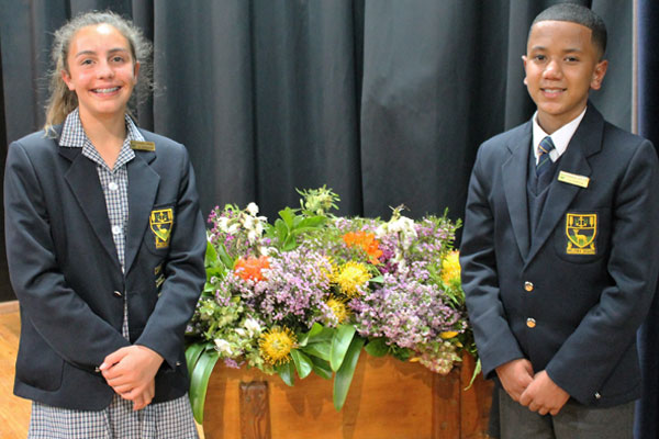 The primary school Student Leadership is headed up by a Junior Head Boy &  Girl